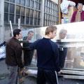 Chargement container Biagne décembre 2006