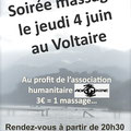 04-06-2009 Soirée massage au profit d'Adikiné à St Etienne