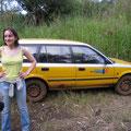 Notre super taxi qui nous a mené au Lac Baleng!!