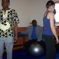 Visite au centre AHP²V de Baham