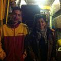 Don de matériel kiné par Myriam Ghimouze et transport par Roméo (février 2014)