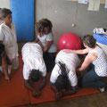 TP avec les étudiants kinés de l'UDM