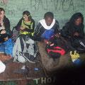 Arrivée au 2ème refuge (2800m) pour la nuit