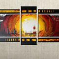 - kieler leuchtturm - Größe 130 x 70 cm, Sylvio Zornsch, paintings, Bilder