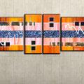 - in deinem licht - Größe 160 x 70 cm, auf Leinwand gemalt