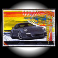 - porsche 911 - Größe 70 x 50 cm, Sylvio Zornsch, Bilder, paintings