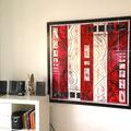 - a matter of time - Größe 120 x 120 cm, Holzplatte, Sylvio Zornsch, Bilder, paintings