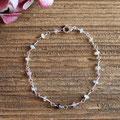 133) Armband Silber 925 mit Saphiren, 120.-