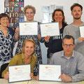 2017-april: Uitreiking certificaten A2 met niveauaantekening