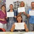 2017-augustus: Uitreiking certificaten zomercursus