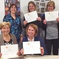 2018-maart: Uitreiking certificaten A1 (dinsdaggroep)