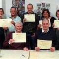 2018-december: Uitreiking certificaten A1 met niveauaantekening