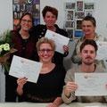2018-december: Uitreiking certificaten B1 met niveauaantekening