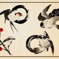 鳥 刺青 ¥30,000-