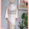 ご結婚式に 色留袖