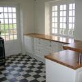 Ausbau der Küche