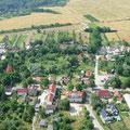 Dorfanger Richtung Weinberge