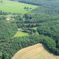 Lossower Kurven, die ehemalige Gemeindegrenze zu Lossow