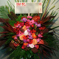 S026スタンド花・ロビー花 公演御祝・開店御祝におすすめ(東京23区内送料無料)