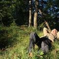 ... und genießen die entschleunigende Kraft und Ruhe der Natur