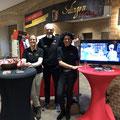 Christine, Werner und Kerstin präsentieren das Projekt