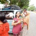 The sumbawa way of filling the car