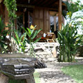 Garden bali bungalow accommodation