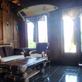living room bungalow bali
