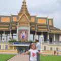 Nouchine zeigt den Königspalast (1)
