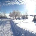 Schnee auf dem Jakelhof