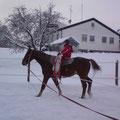 Volti im Schneeanzug