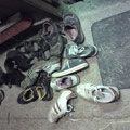 Schuhe müssen draußen bleiben