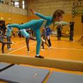 Dreikampf Gymnastik
