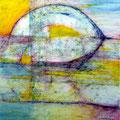 Brumoso - Mixta sobre papel 28 x 28 cm, 2012