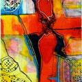 Xisurc, mixta sobre papel, 25 x 17 cms, 2010
