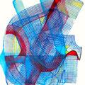 Mantra Vibrátil3, mixta sobre papel, 22 x 15 cms, marvilla/2014