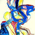Galimatías - Mixta sobre papel 39 x 30 cm, 2012