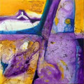 Echar Raíces - Acrílico sobre tabla 50 x 50 cm