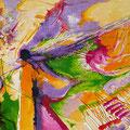 Despéiname, Viento de Primavera!, acrílico sobre papel, 32 x 23 cms, 2008 VENDIDA