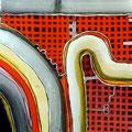 Calados Abismales4, mixta sobre papel, 30 x 30 cms, 2010, sold/vendida