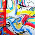 Pop Sunrise - Mixta sobre papel 39 x 30 cm, 2012