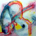 Momento Fugaz - Mixta sobre papel 28 x 28 cm, 2012