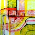 Grabure - Mixta sobre papel 28 x 28 cm, 2012