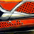 Calados Abismales2, mixta sobre papel, 30 x 30 cms, 2010