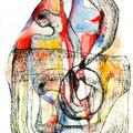 Mantra Interior3, mixta sobre papel, 30 x 20 cms, marvilla/2014