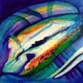 De Profundis - Acrílico sobre tabla 60 x 60 cm