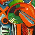 After Shopping, acrílico sobre papel, 31,5 x 22 cms, 2008 VENDIDA