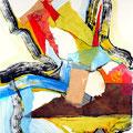 Cataclismo - Mixta sobre papel 39 x 30 cm, 2012