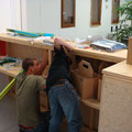 Verkabeln und fertigstellen der Bar