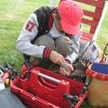 Michel et ses outils